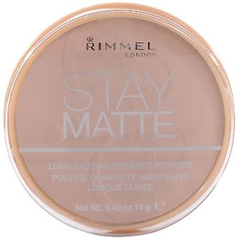 Rimmel London Bleiben Matte Pressed Powder Long Lasting (Make-up , Gesicht , Basis)