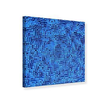 Canvas Print 3D Mosaic