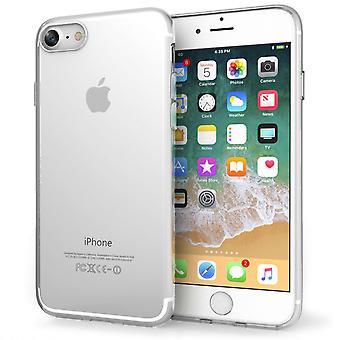 8 interior puntos Ultra delgada Gel el caso iPhone - claro