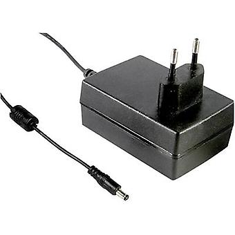 Mains PSU (fixed voltage) Mean Well GS25E24-P1J 24 Vdc 1