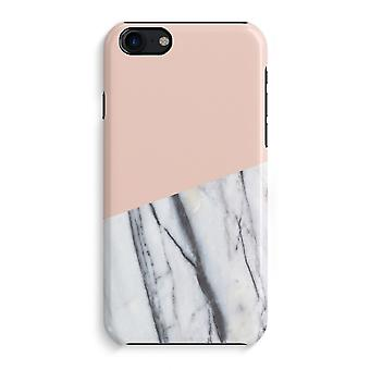 iPhone 7 Full Print Case (Glossy) - A touch of peach