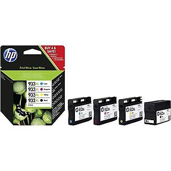 HP Ink 932XL, 933XL Original Set Black, Cyan, Magenta, Yellow C2P42AE