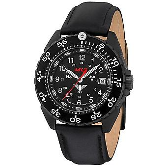 KHS horloges mens watch enforcer Zwarte titanium KHS. ENFBT. L