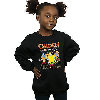 Queen Mädchen eine Art magische Sweatshirt