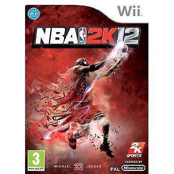 NBA 2K 12 (Wii)
