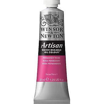 Winsor & Newton Artisan vatten blandbart olja färg 37ml (502 Permanent Rose S1)