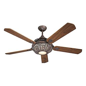 Ceiling Fan Santa Pepeo rust brown with remote control