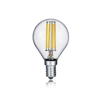 Trio Beleuchtung Lampe modernes transparentes Klarglas Lichtquelle