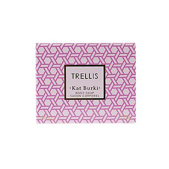 Kat Burki 'Trellis' Body Soap 7.7oz/215.6g New In Box