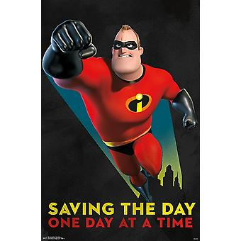 The Incredibles 2 - Mr Incredible Poster Print