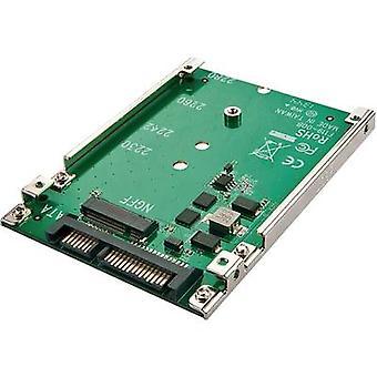 GBIC [1 x SATA plug 22-pin - 1 x M.2 NGFF] Renkforce