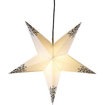 Deco-Plant 7907 Christmas star LED White, Black