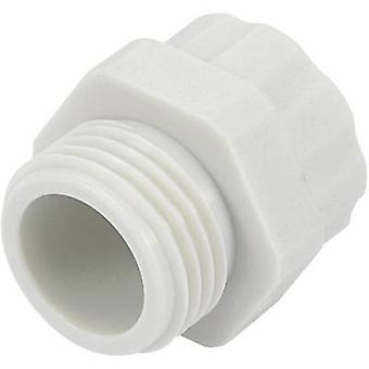 Cable gland adapter PG7 M12 Polyamide Light grey (RAL 7035) KSS PR712GY4 1 pc(s)