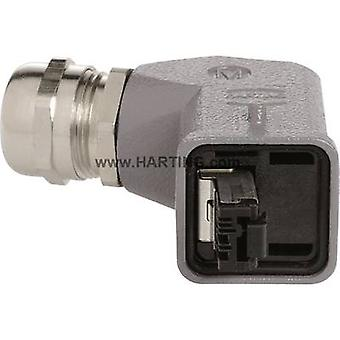 Harting 09 45 115 1104 Sensor/actuator data cable Plug, right angle No. of pins (RJ): 4P4C 1 pc(s)