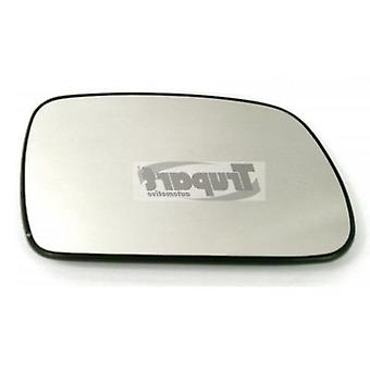 Right Mirror Glass (not heated) & Holder for Peugeot 307 CC 2003-2008