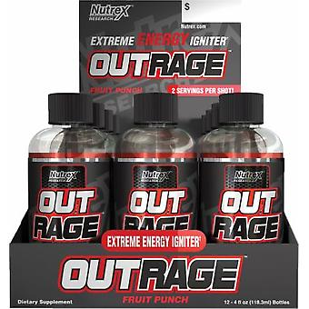 Nutrex Out Rage Shots Margarita Lime 12 x 118 ml (Sport , Energy , Intra-endurance)