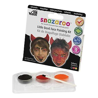 Snazaroo kleiner Teufel Halloween Theme Pack - Face + Body Paint Kit