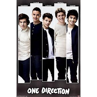 One Direction 1D - Bars Poster Print