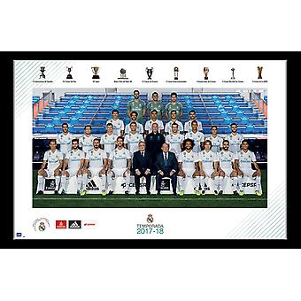 Real Madrid - Team Poster Print