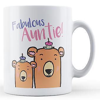 Fabelhafte Tante! -Bedruckte Becher