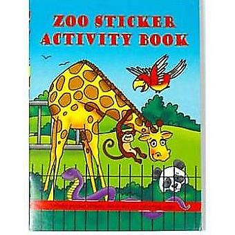 Zoo Animal Mini Sticker Activity Book for Party Bags | Wild Animal Kids Crafts