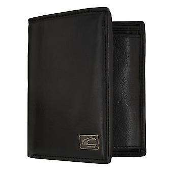 Camel active mens wallet wallet purse with RFID-chip protection black 7323