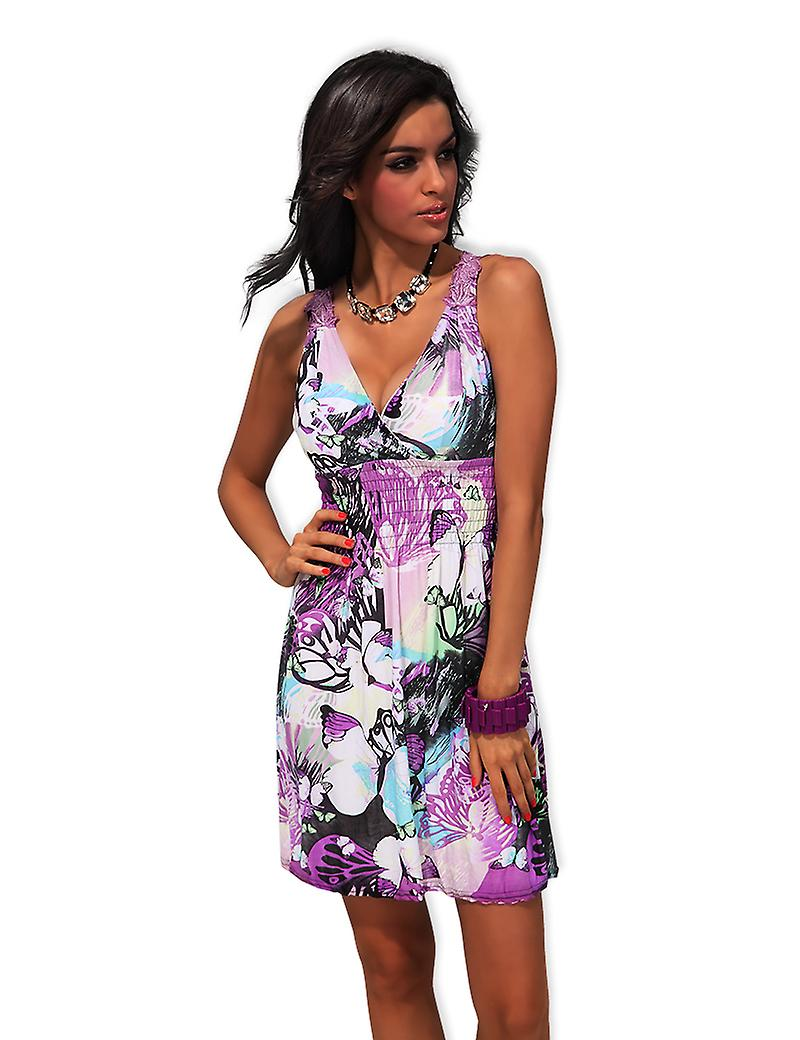 Waooh - Fashion - Short dress floral pattern