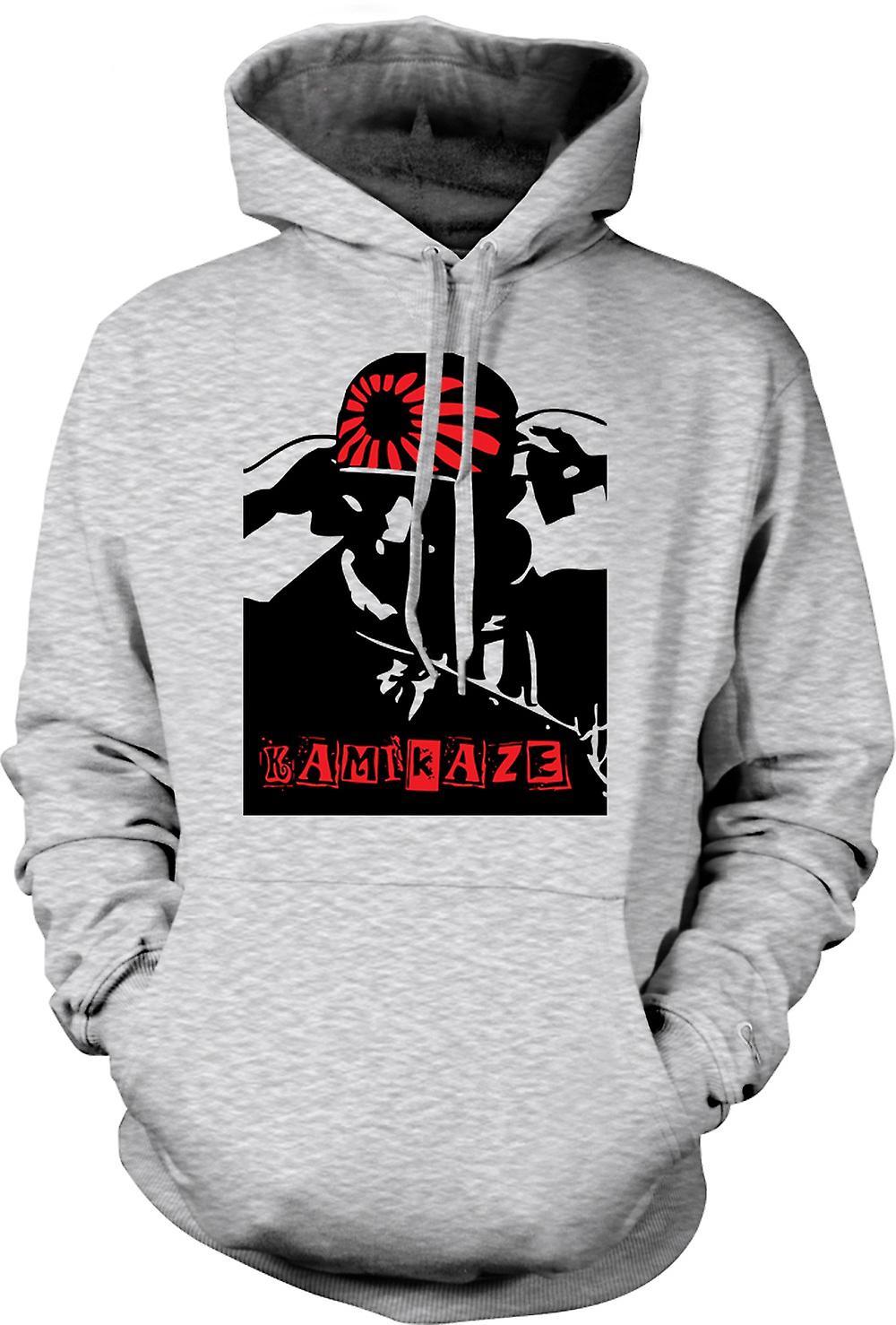 Mens Hoodie - Kamikaze japonais - Guerre WW2