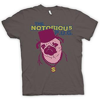Mens T-shirt - The Notorious Pug