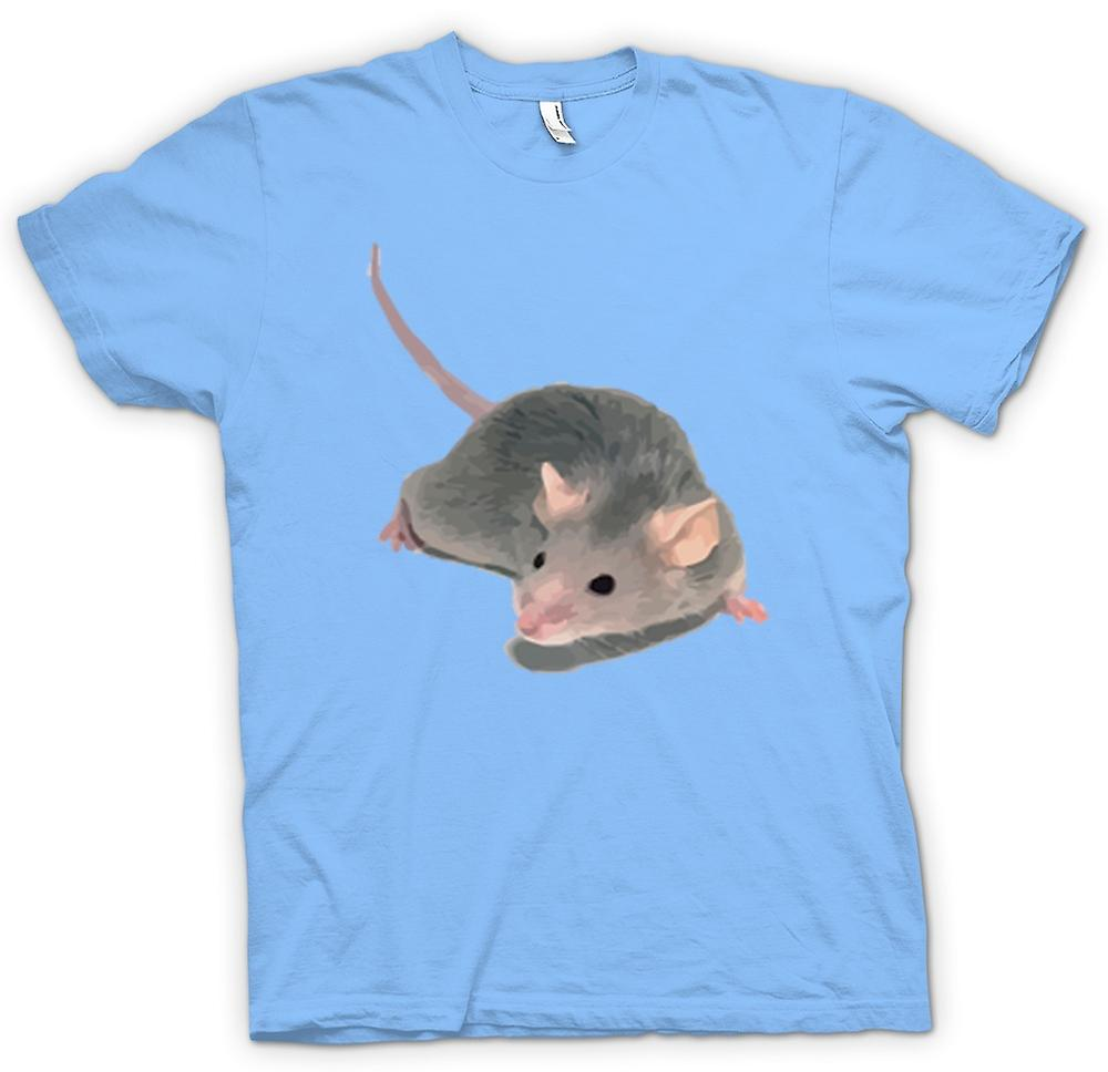 Mens T-shirt-Haustier Ratte Tier Portrait