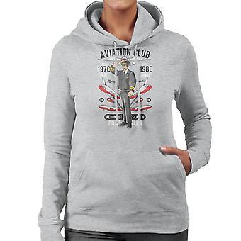 Aviation Club Women's Hooded Sweatshirt