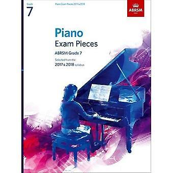 Klaver eksamen stykker 2017 & 2018, Grade 7: Valgt fra 2017 & 2018 pensum (ABRSM eksamen stykker)