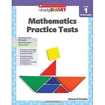 Scholastieke studie slimme wiskunde praktijk Tests niveau 1