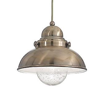 Ideal Lux - Sailor Bronze Large Single Pendant IDL025285