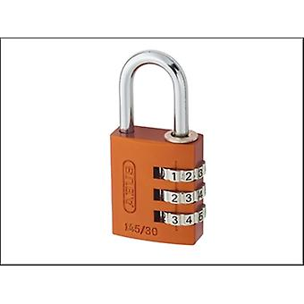 145/40 40MM ALUMINIUM COMBINATION PADLOCK RANDOM COLOUR 49865