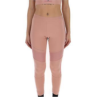 Adidas By Stella Mccartney Pink Polyester Leggings