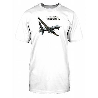 Guns Don't Kill People Predator Drones Do Kids T Shirt