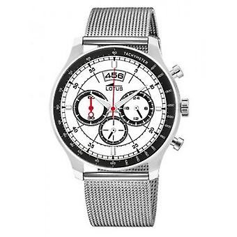 Lotus 10138-1 CHRONO watch - watch Chrono Steel white man