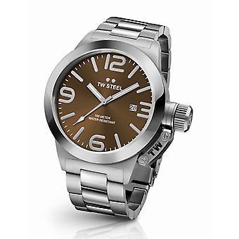 Tw Steel Cb21 Canteen Bracelet Heren Horloge 45mm