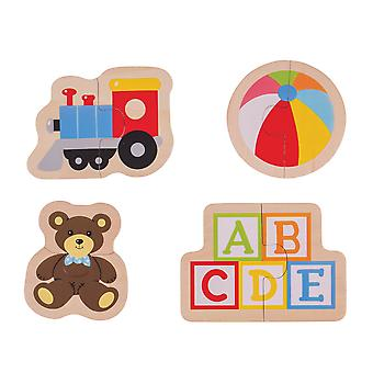 Bigjigs Toys Two Piece Puzzles - Toys
