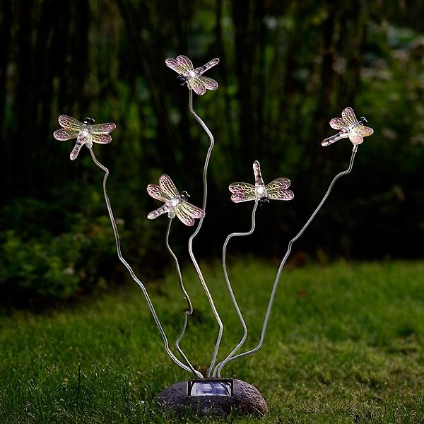 Konstsmide 7629-000 Assissi Solar Dragonfly Light