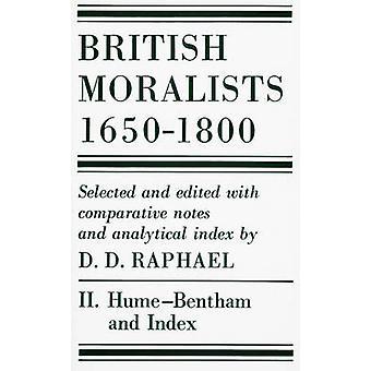 Moralistas britânicas - 1650 - 1800 - v. 2 - Hume-Bentham por d. d. Rafael - 9