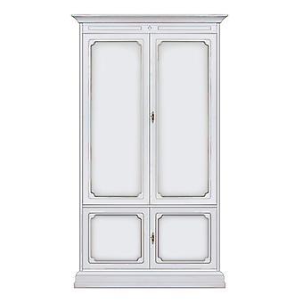 Wardrobe 2 wooden Doors classic style