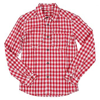 Levis Guys Shirt Red Check