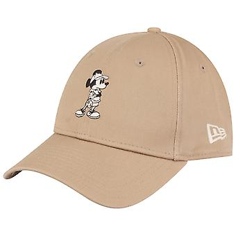 New Era 9Forty Adjustable Cap - COTTON Mickey Mouse camel