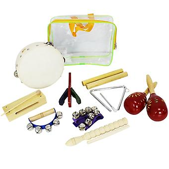 A-Star 9 Piece Childrens Percussion Pack