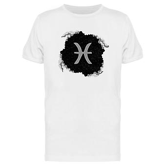 Zodiac Fish Starry Sky Tee Men's -Image by Shutterstock