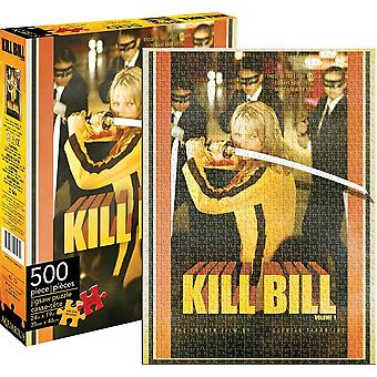 Kill Bill Quentin Tarantino 500 piece jigsaw puzzle (62103 nm)