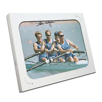 Sir Steve Redgrave Signed Photo: The Winning Team. In Gift Box