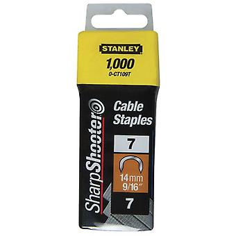 Stanley Type câble pince juillet 1000 unités